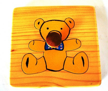 MT023 Teddy Bear Puzzle